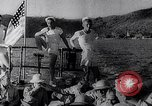 Image of Pacific Islanders in dugout canoes Pacific Theater, 1942, second 36 stock footage video 65675040839