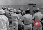 Image of Pacific Islanders in dugout canoes Pacific Theater, 1942, second 40 stock footage video 65675040839