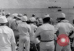 Image of Pacific Islanders in dugout canoes Pacific Theater, 1942, second 41 stock footage video 65675040839