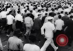 Image of Men volunteer en masse for the United States Navy Houston Texas USA, 1942, second 34 stock footage video 65675040846