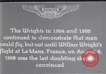 Image of Wilbur Wright Le Mans France, 1908, second 1 stock footage video 65675040861