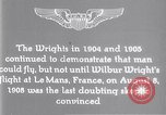 Image of Wilbur Wright Le Mans France, 1908, second 6 stock footage video 65675040861