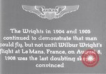 Image of Wilbur Wright Le Mans France, 1908, second 7 stock footage video 65675040861