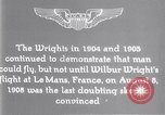 Image of Wilbur Wright Le Mans France, 1908, second 10 stock footage video 65675040861