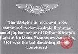 Image of Wilbur Wright Le Mans France, 1908, second 12 stock footage video 65675040861