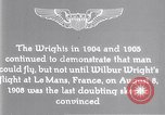Image of Wilbur Wright Le Mans France, 1908, second 13 stock footage video 65675040861