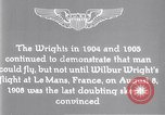 Image of Wilbur Wright Le Mans France, 1908, second 14 stock footage video 65675040861