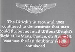 Image of Wilbur Wright Le Mans France, 1908, second 15 stock footage video 65675040861