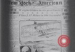 Image of Wilbur Wright Le Mans France, 1908, second 49 stock footage video 65675040861