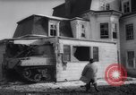 Image of demolished house New Jersey United States USA, 1957, second 23 stock footage video 65675040876