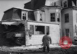 Image of demolished house New Jersey United States USA, 1957, second 24 stock footage video 65675040876