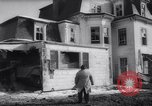 Image of demolished house New Jersey United States USA, 1957, second 25 stock footage video 65675040876
