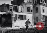 Image of demolished house New Jersey United States USA, 1957, second 26 stock footage video 65675040876