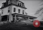 Image of demolished house New Jersey United States USA, 1957, second 27 stock footage video 65675040876