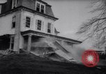 Image of demolished house New Jersey United States USA, 1957, second 28 stock footage video 65675040876