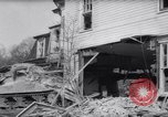 Image of demolished house New Jersey United States USA, 1957, second 31 stock footage video 65675040876