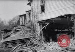 Image of demolished house New Jersey United States USA, 1957, second 32 stock footage video 65675040876