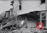 Image of demolished house New Jersey United States USA, 1957, second 34 stock footage video 65675040876