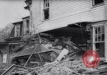 Image of demolished house New Jersey United States USA, 1957, second 35 stock footage video 65675040876