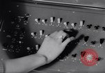 Image of computer weather forecasting in England United Kingdom, 1959, second 41 stock footage video 65675040896