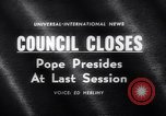 Image of Pope John Rome Italy, 1962, second 1 stock footage video 65675040904