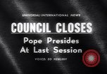 Image of Pope John Rome Italy, 1962, second 2 stock footage video 65675040904