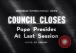 Image of Pope John Rome Italy, 1962, second 3 stock footage video 65675040904