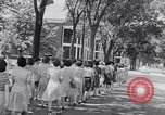 Image of the women of WAACS training Des Moines Iowa USA, 1942, second 15 stock footage video 65675040907