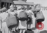 Image of the women of WAACS training Des Moines Iowa USA, 1942, second 23 stock footage video 65675040907