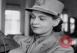 Image of the women of WAACS training Des Moines Iowa USA, 1942, second 38 stock footage video 65675040907