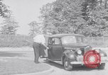 Image of car-pooling Middle River Maryland USA, 1942, second 11 stock footage video 65675040912