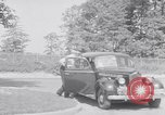 Image of car-pooling Middle River Maryland USA, 1942, second 12 stock footage video 65675040912