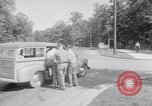 Image of car-pooling Middle River Maryland USA, 1942, second 16 stock footage video 65675040912