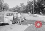 Image of car-pooling Middle River Maryland USA, 1942, second 17 stock footage video 65675040912