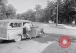 Image of car-pooling Middle River Maryland USA, 1942, second 18 stock footage video 65675040912