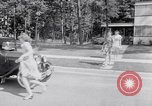 Image of car-pooling Middle River Maryland USA, 1942, second 22 stock footage video 65675040912