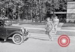 Image of car-pooling Middle River Maryland USA, 1942, second 23 stock footage video 65675040912