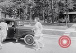 Image of car-pooling Middle River Maryland USA, 1942, second 25 stock footage video 65675040912