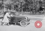 Image of car-pooling Middle River Maryland USA, 1942, second 27 stock footage video 65675040912