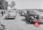 Image of car-pooling Middle River Maryland USA, 1942, second 36 stock footage video 65675040912