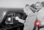 Image of car-pooling Middle River Maryland USA, 1942, second 42 stock footage video 65675040912