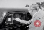 Image of car-pooling Middle River Maryland USA, 1942, second 43 stock footage video 65675040912
