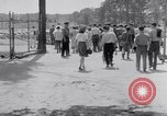 Image of car-pooling Middle River Maryland USA, 1942, second 47 stock footage video 65675040912