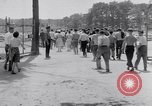 Image of car-pooling Middle River Maryland USA, 1942, second 50 stock footage video 65675040912