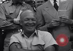 Image of General Eisenhower Miami Florida USA, 1947, second 25 stock footage video 65675040919