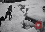 Image of rescue operations Stevens Pass Washington USA, 1947, second 22 stock footage video 65675040926