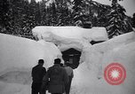 Image of rescue operations Stevens Pass Washington USA, 1947, second 24 stock footage video 65675040926