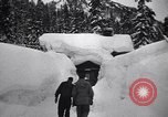 Image of rescue operations Stevens Pass Washington USA, 1947, second 26 stock footage video 65675040926