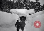 Image of rescue operations Stevens Pass Washington USA, 1947, second 27 stock footage video 65675040926