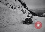 Image of rescue operations Stevens Pass Washington USA, 1947, second 58 stock footage video 65675040926